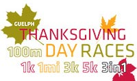 Thanksgiving Day Race Logo